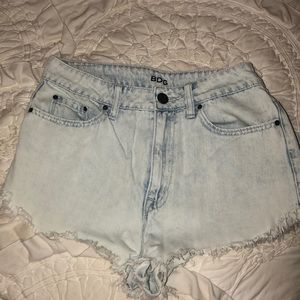 BDG high waisted festival shorts